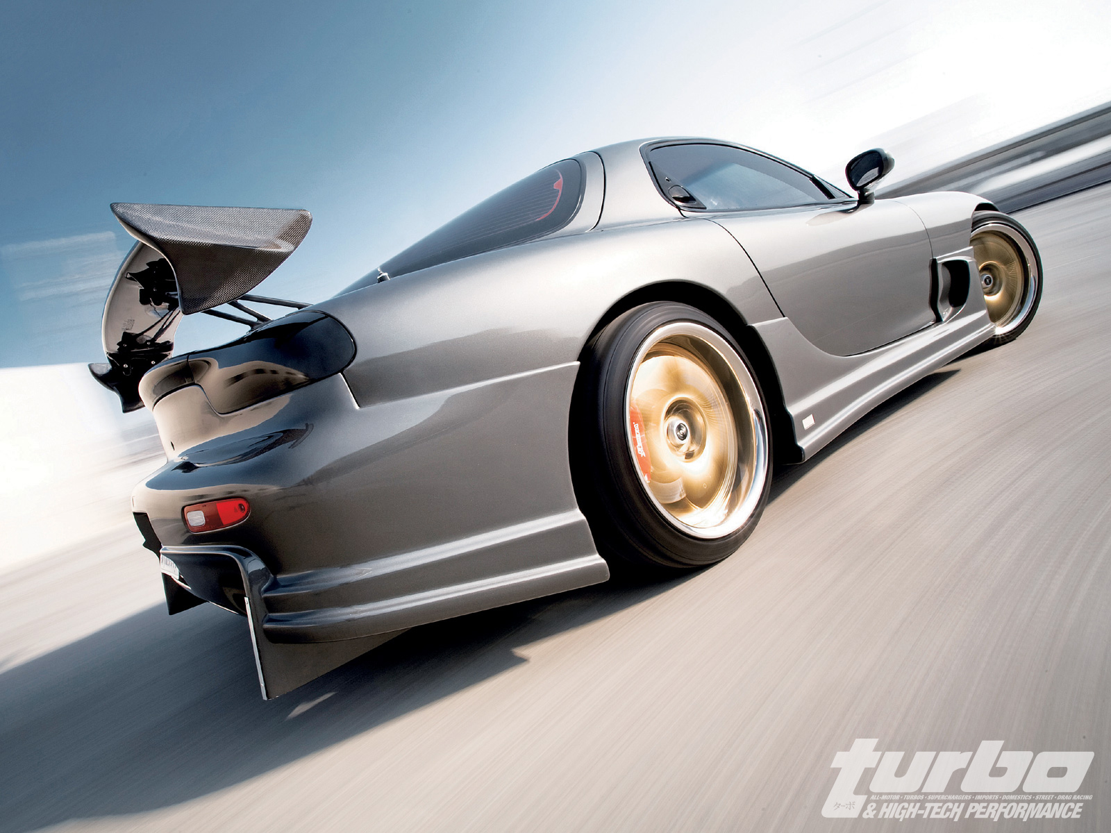 Mazda Rx7 Fd3s A Spec Tuning Rolling
