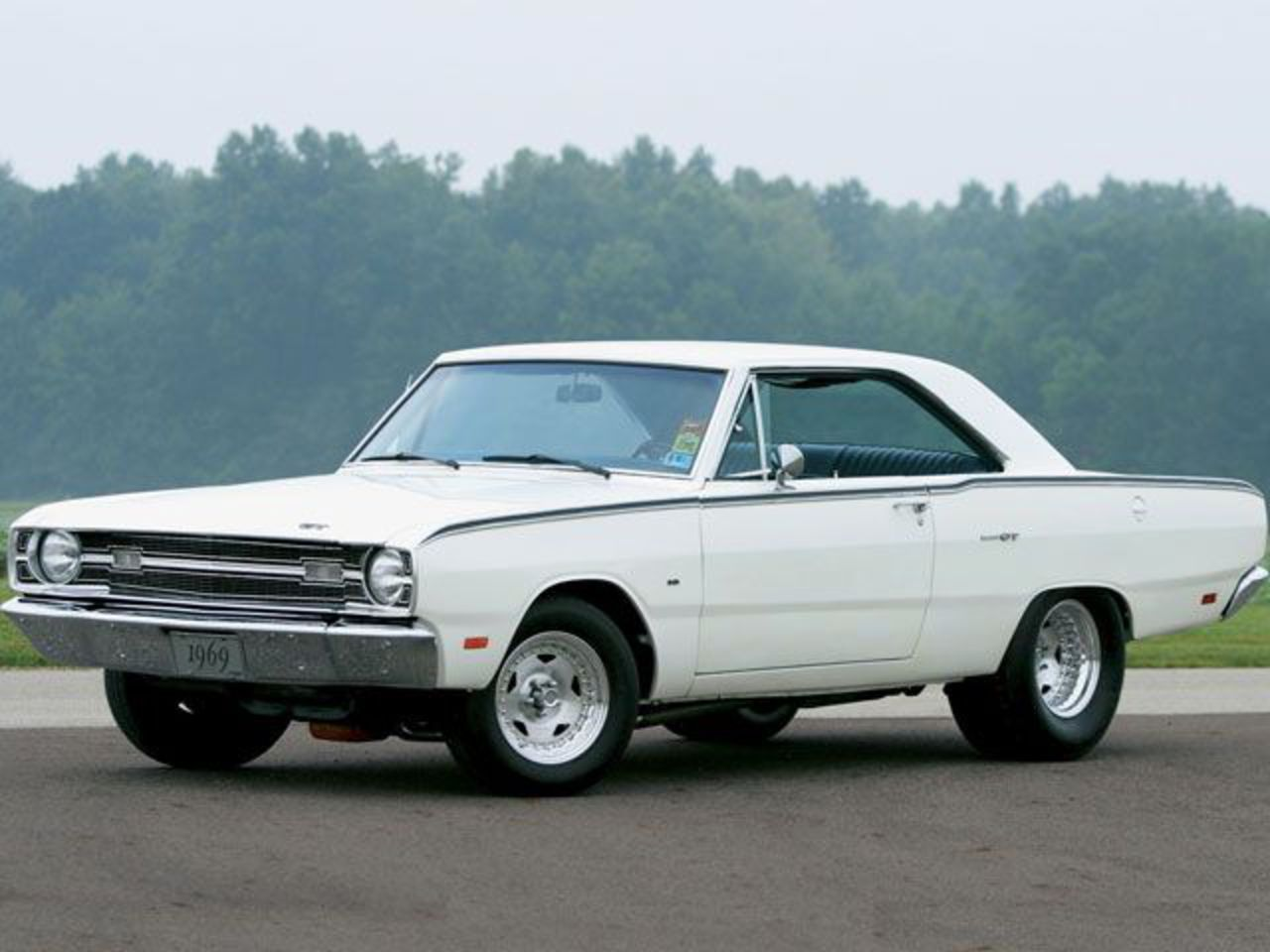 1969 Dodge Dart Gt Muscle Car Driver Side Front View