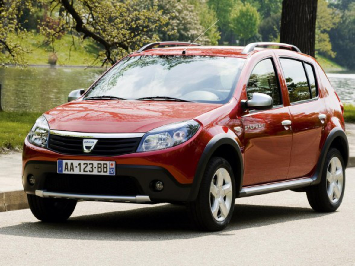 Dacia Sandero Stepway is further enhanced by the performance of the 1.6 MPI
