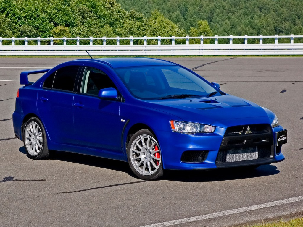 2012 Mitsubishi Lancer. It is said that the company is excited to cover a