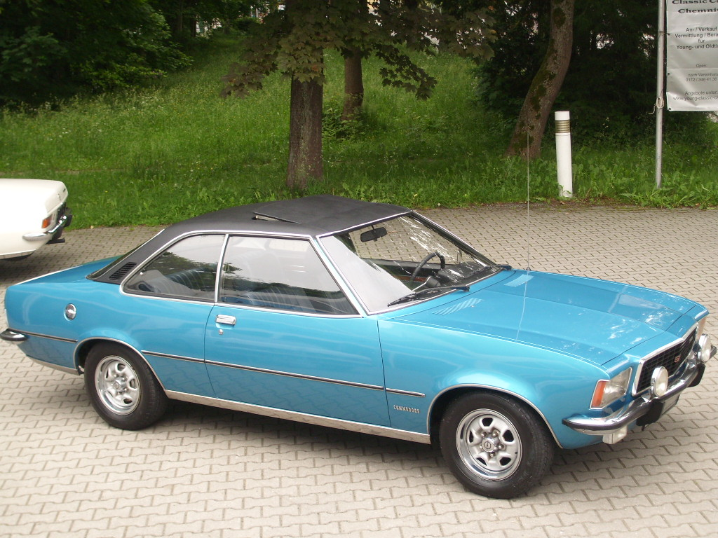 Opel Commodore GS Coupé, Bj.72, 130 PS, org. 136tkm, 3. Hand