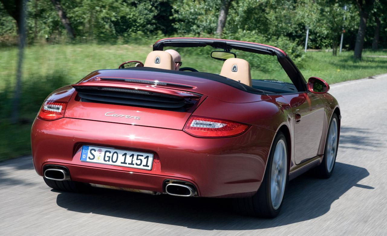 2009 Porsche 911 Carrera Cabriolet. WALLPAPER; PRINT; RETURN TO ARTICLE