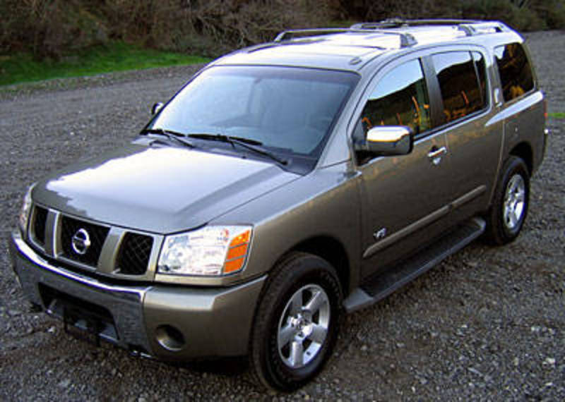 2006 Nissan Armada SE 4x4 Test Drive and Review. From Jason Fogelson