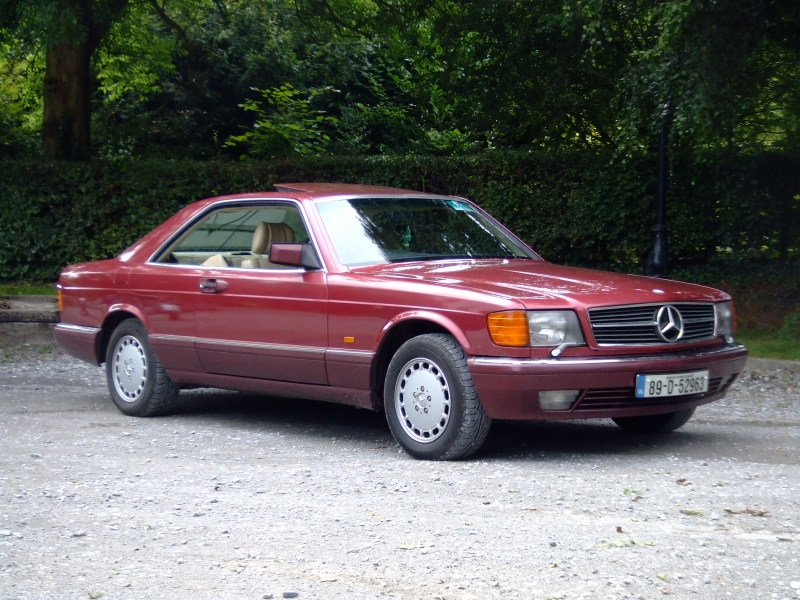 Mercedes-Benz 500 SEC - cars catalog, specs, features, photos, videos,