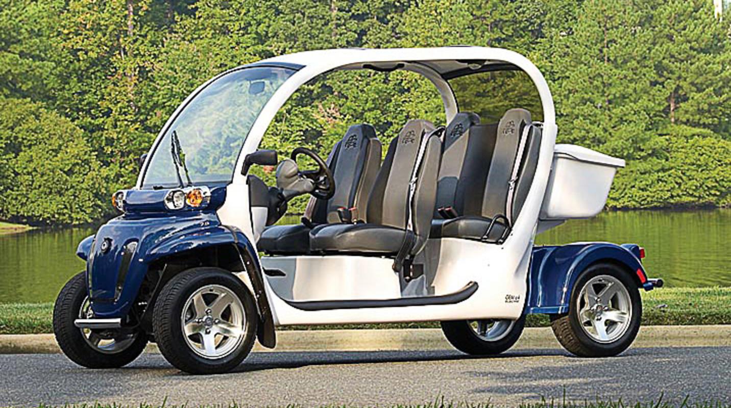 Sun City Center Golf Carts Gem E4 Ev Street Legal Four Seater By