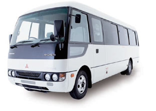 Mitsubishi Rosa Bus 2013 Model added in our fleet 23 Feb | 2013