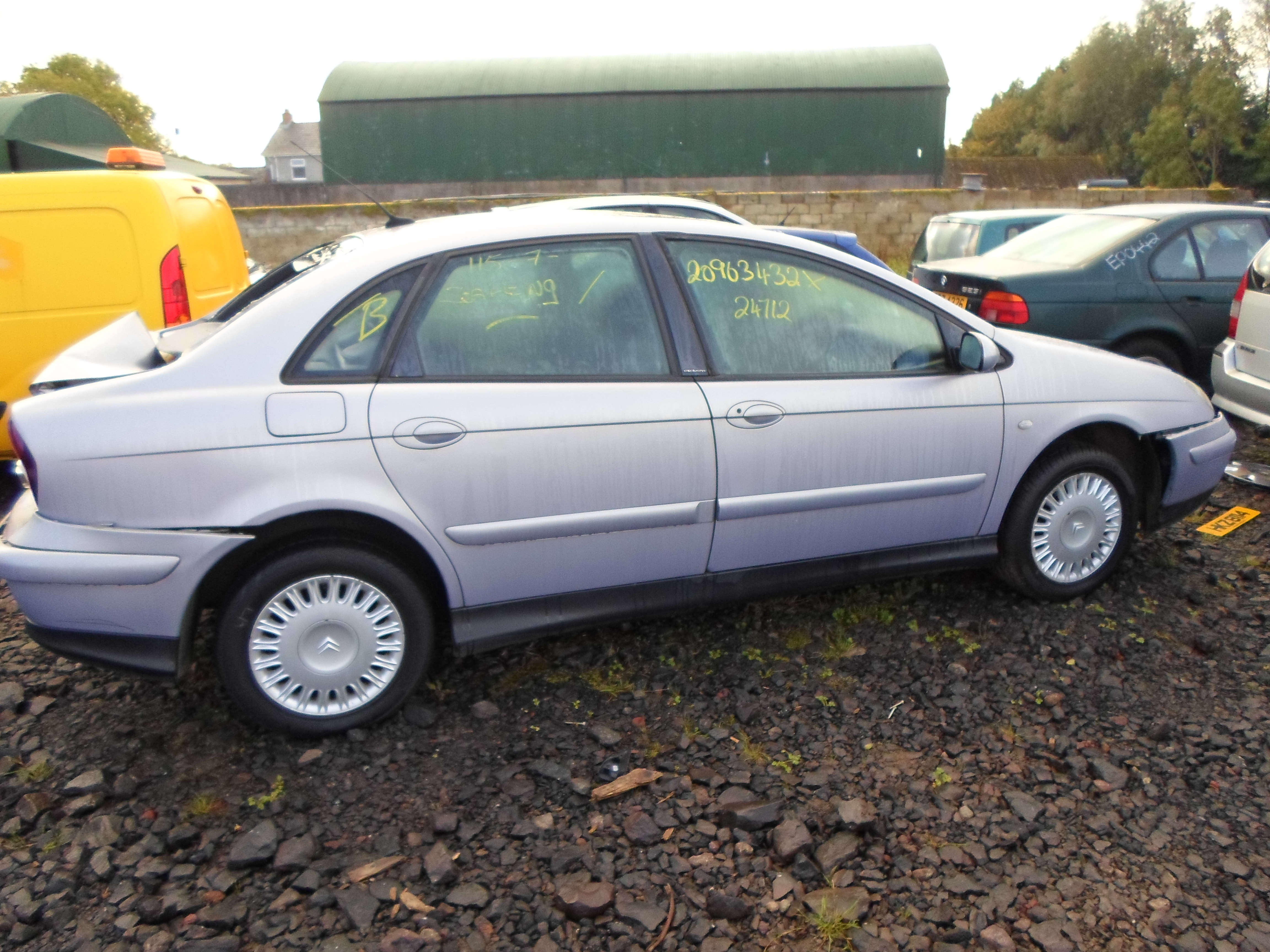 CITROEN C5 HDI EXCLUSIVE SE AUTO 2002 ECU, TRANSPONDER, BSI 2001,2002,