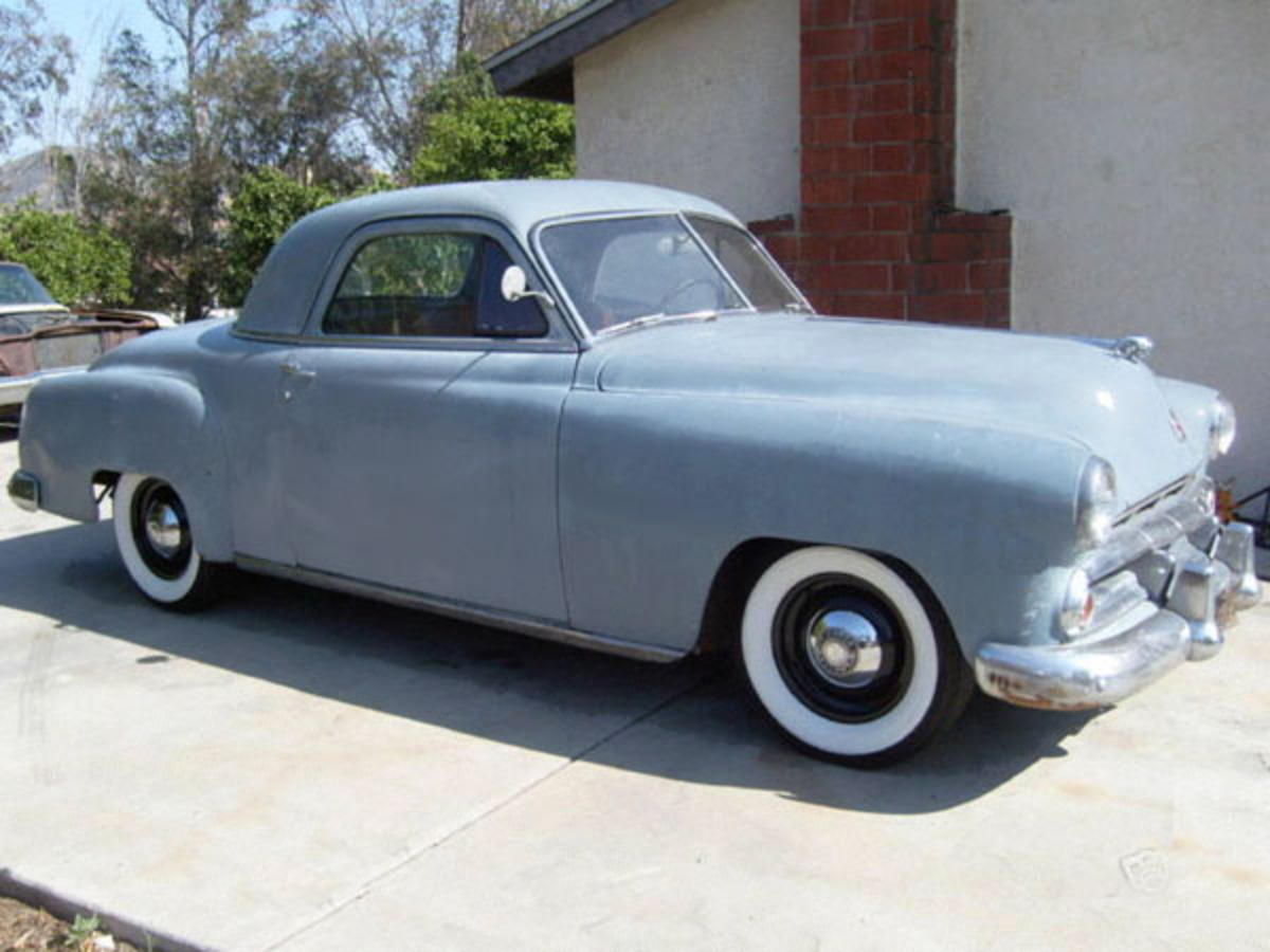Dodge Business Coupe 1951. Submitted by Rick Feibusch, 2009