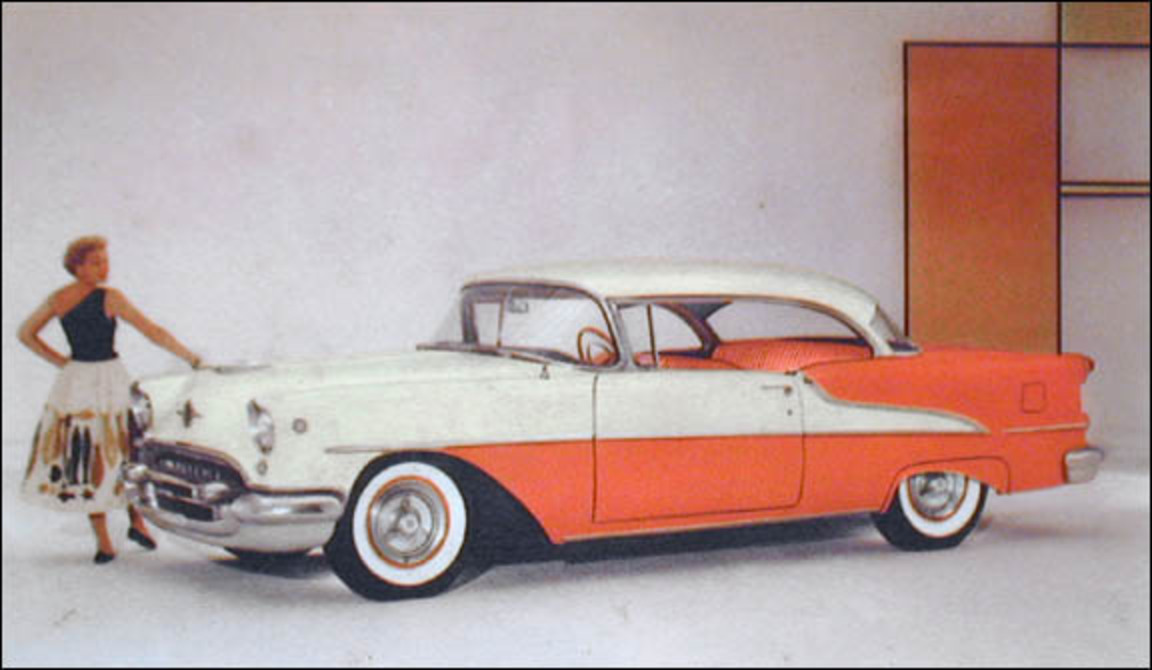 Oldsmobile Super 88 Holiday Sport Coupe - cars catalog, specs, features,