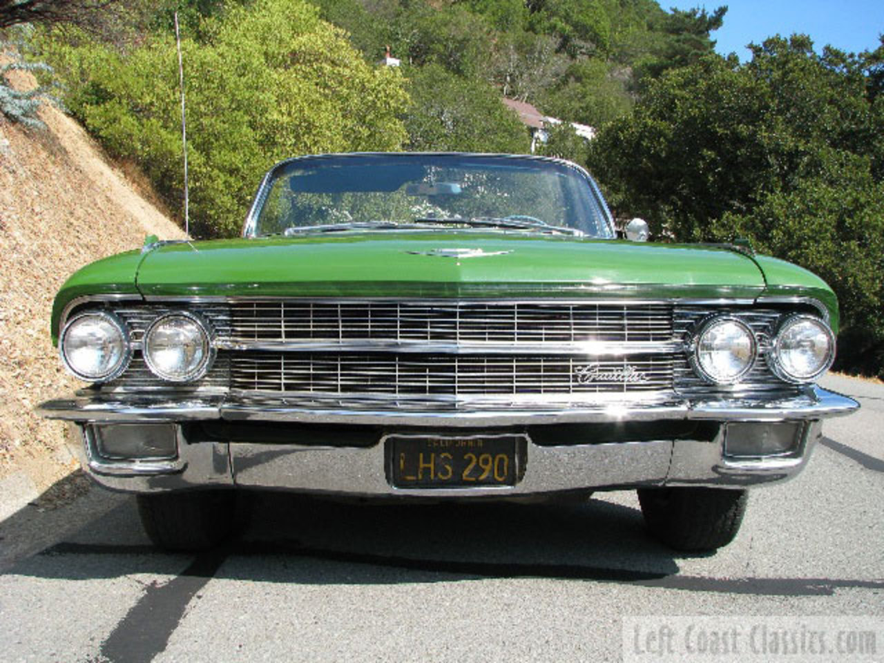 1962 Cadillac Convertible. Rust Free 1-family owned California Car
