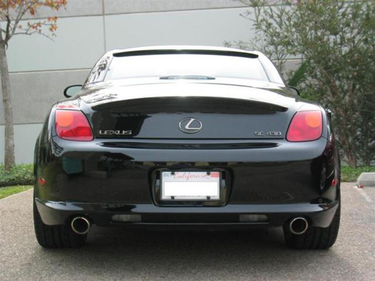 NEWEST BMW 635i Convertible copies back end of Lexus SC430!