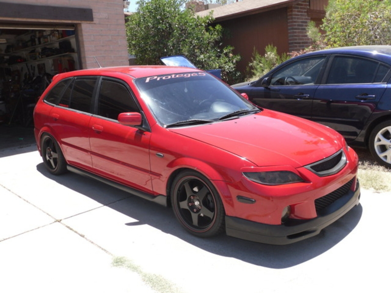 My old 2003.5 Mazda Protege5 turbo that was highly modified.
