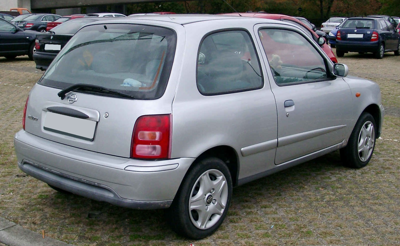 File:Nissan Micra rear 20081017.jpg