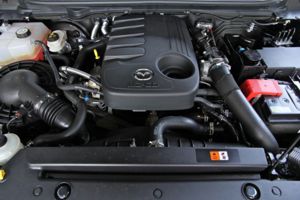 automatic transmission. The two share the same 3.2-litre diesel