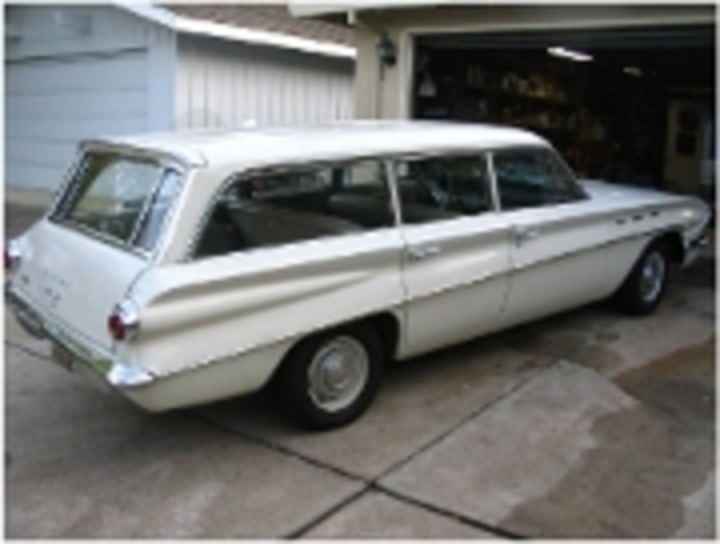 62 Buick Special Station Wagon. Found this last summer on EBay.