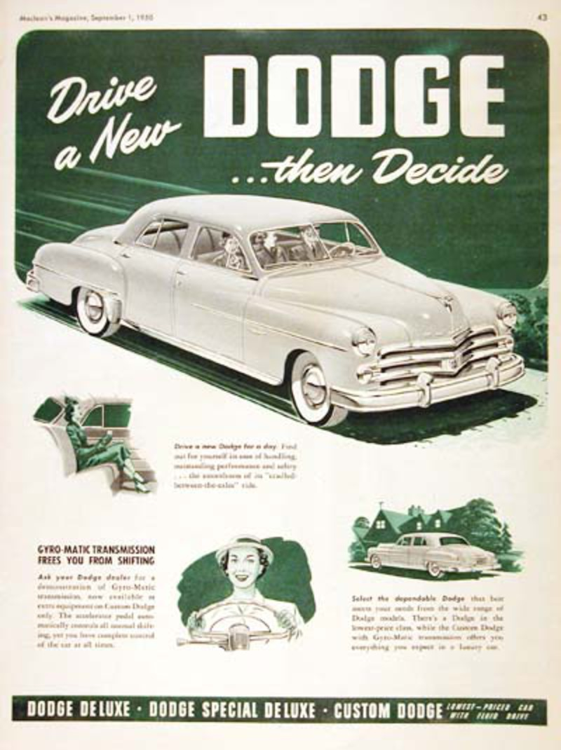 Dodge Custom sedan. View Download Wallpaper. 400x535. Comments
