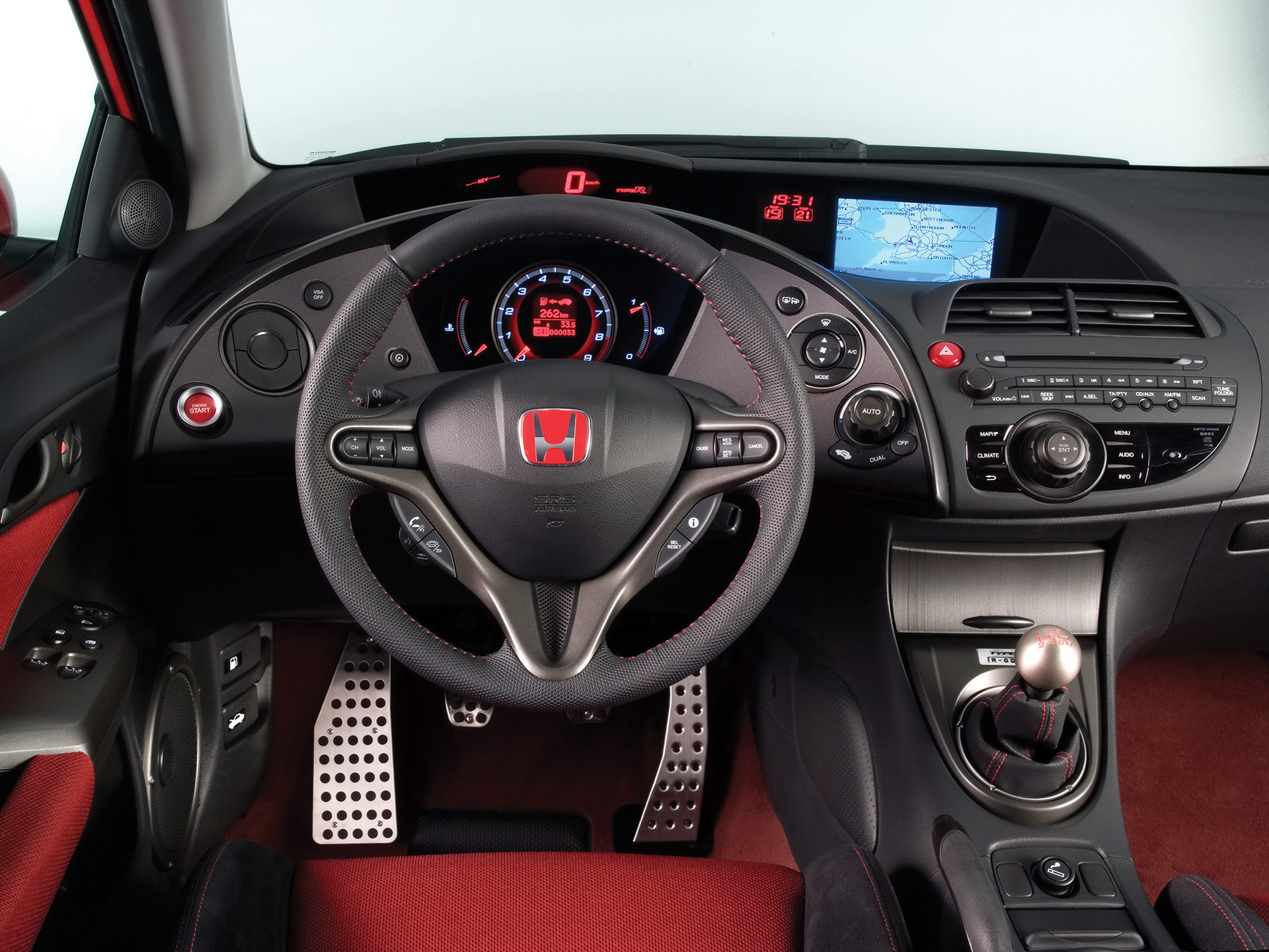 Honda Civic SiR interior