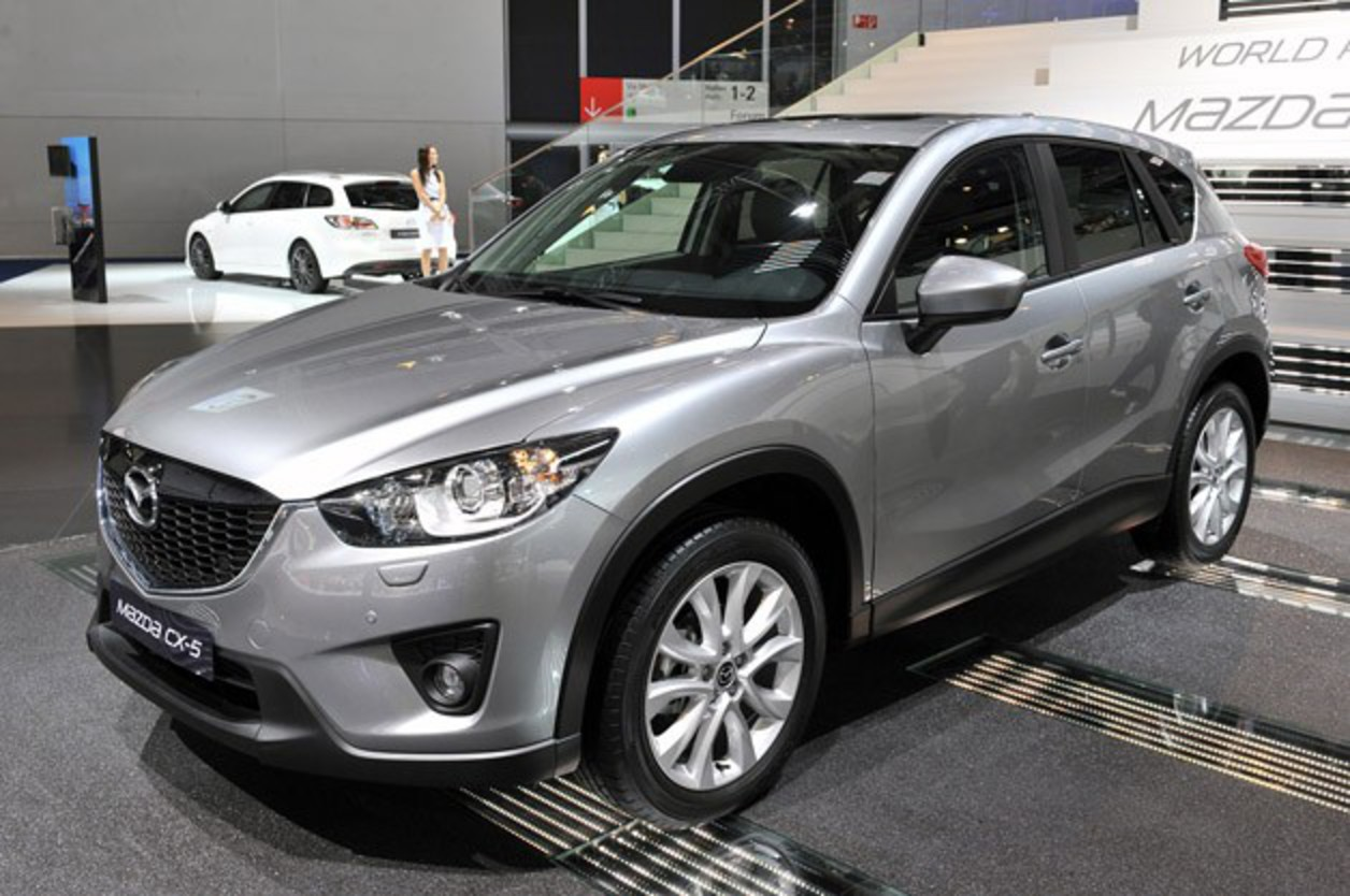 2013 Mazda CX-5. As you might recall, we recently spent some time behind the