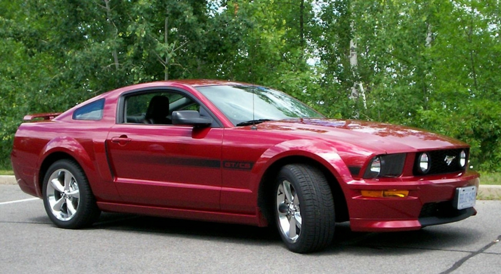 2007 ford mustang gt california special pictures