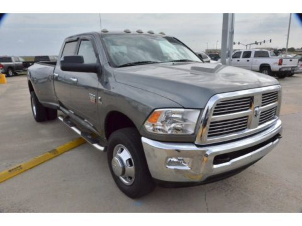 2010 Dodge Ram 3500 Big Horn Edition Crew Cab 4x4 Dually Data,