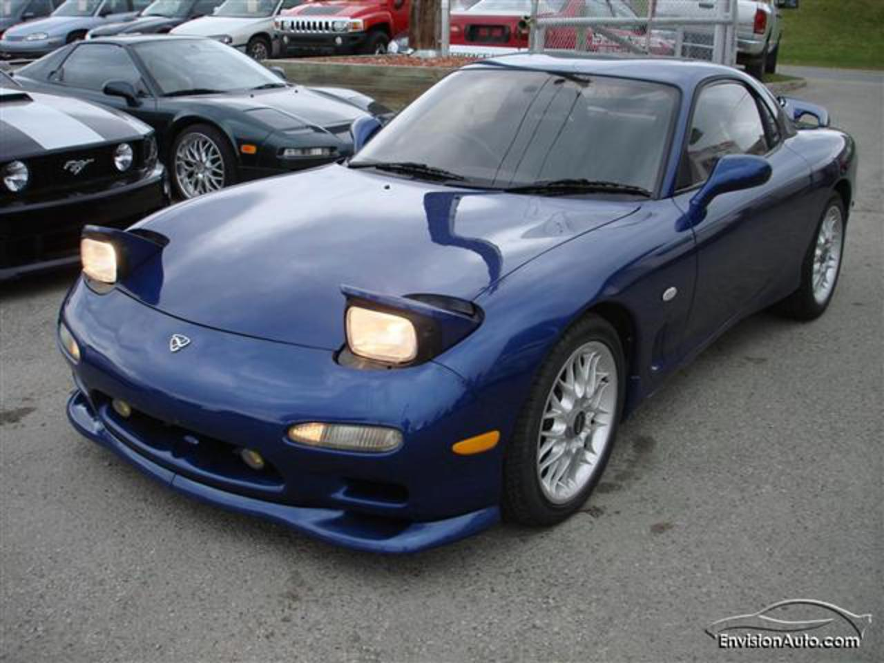 1992 Mazda RX-7 Twin Turbo 5 Speed Vehicle Specification