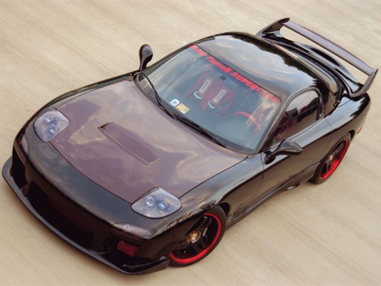 Mazda RX-7 Twin Turbo — a model manufactured by Mazda.