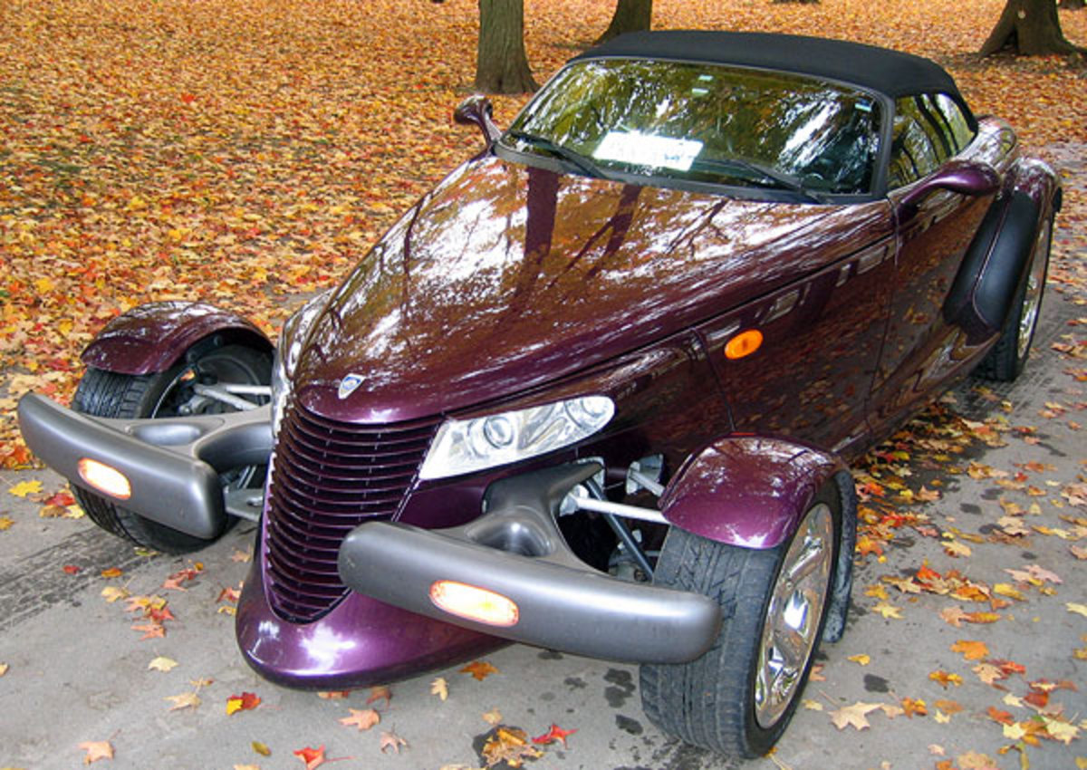 CARBARN | Chrysler Prowler | This car has an extremely unique form,