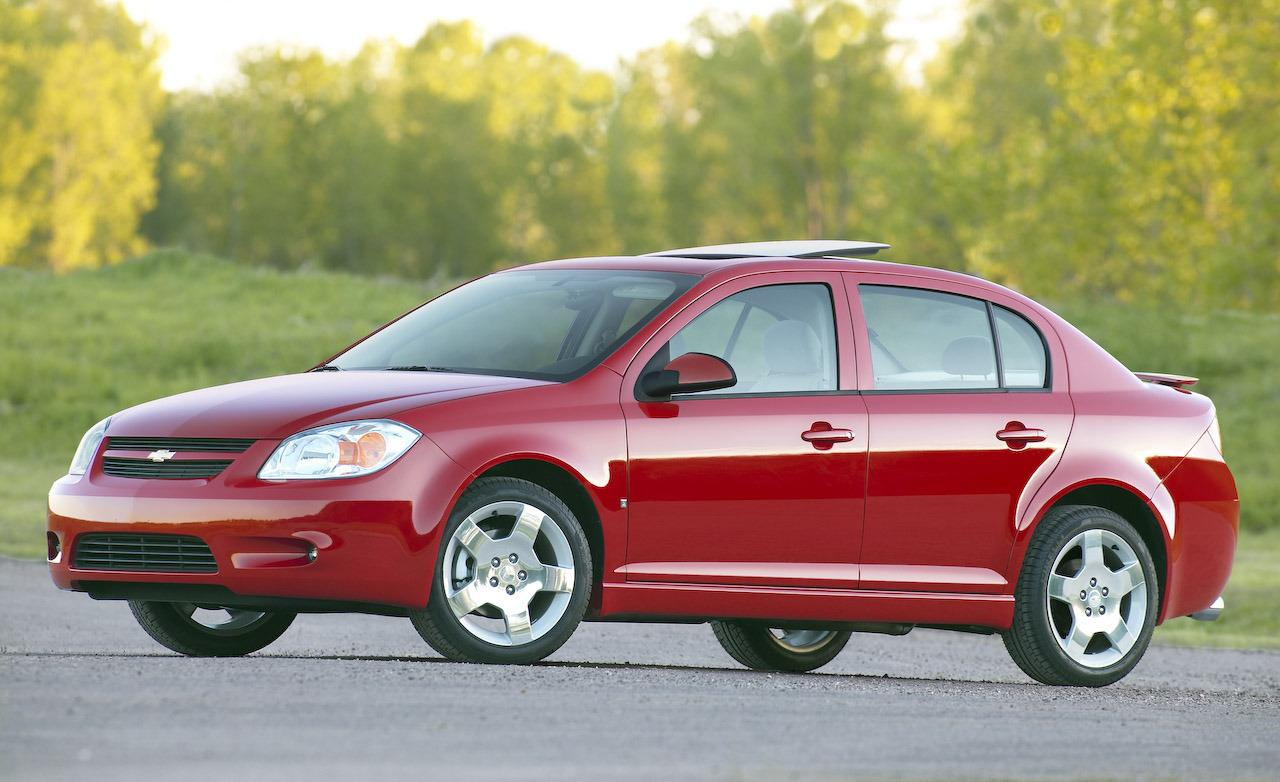 2009 Chevrolet Cobalt LT sedan with Sport appearance package