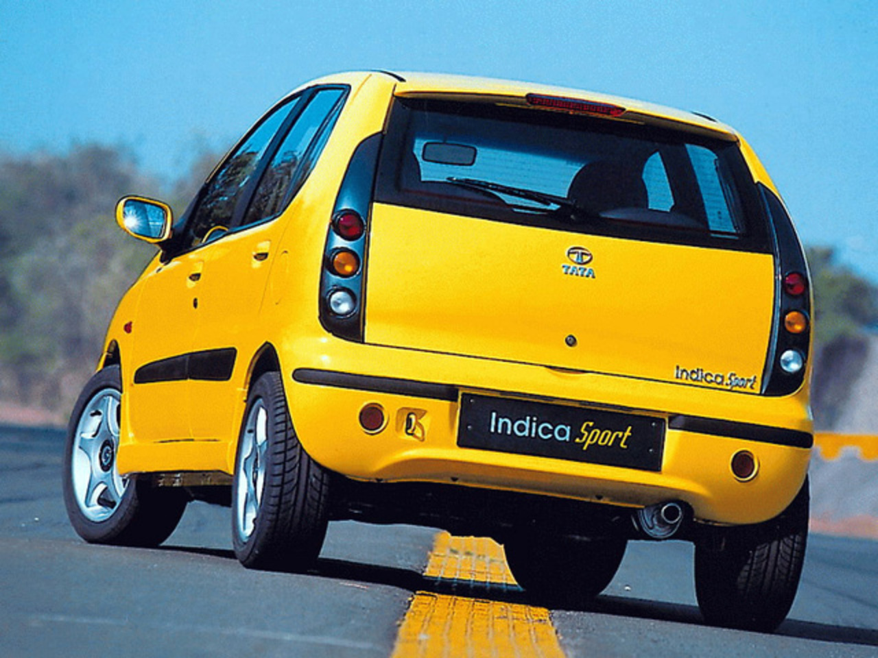 Tata Indica Sport Concept by IDEA | all-