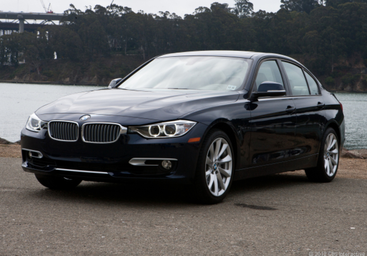 North America automobiles; 2012 BMW 335i