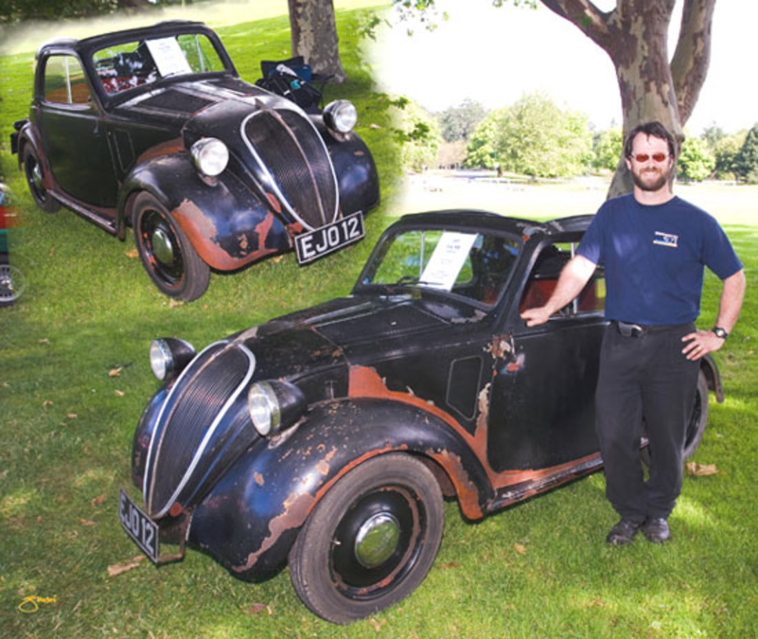 1937 Fiat 500 Topolino A - owned by Andrew Muir's family since 1939,