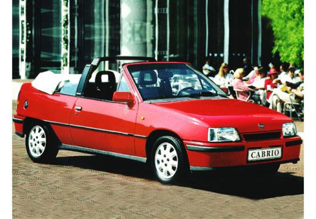 Opel Kadett Cabriolet. View Download Wallpaper. 520x360. Comments