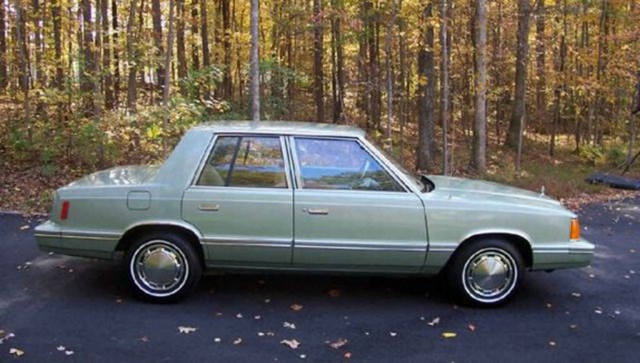 1989 plymouth reliant k