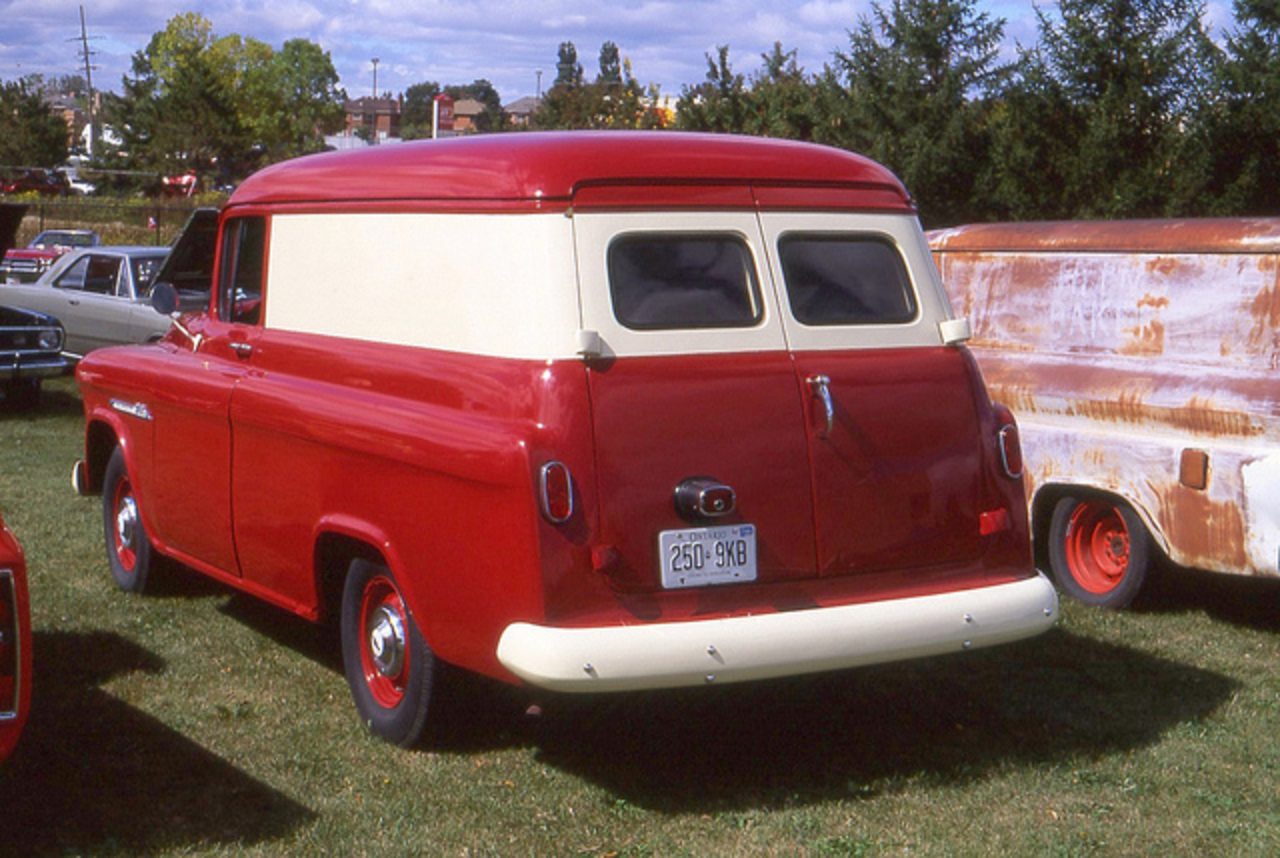 Topworldauto Photos Of Chevrolet 3100 Panel Photo Galleries 1957 Chevy Truck 1955