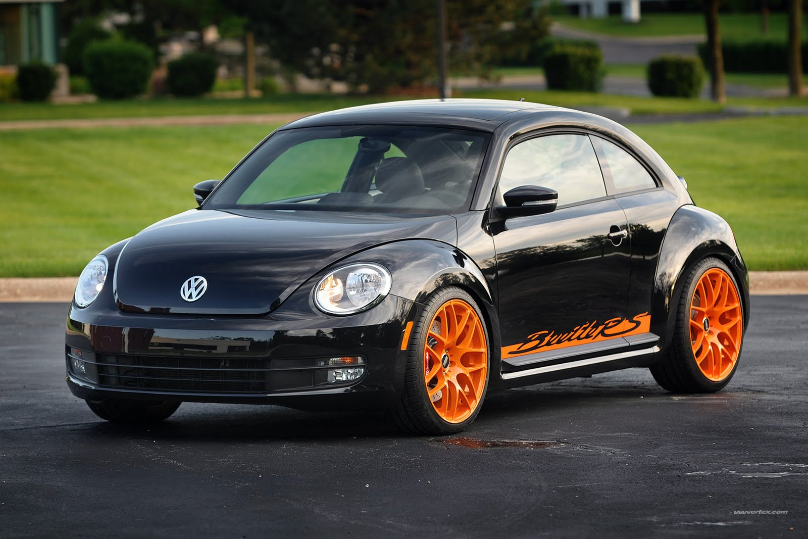 Meet the First Modified 2012 Volkswagen Beetle Inspired by the Porsche 911