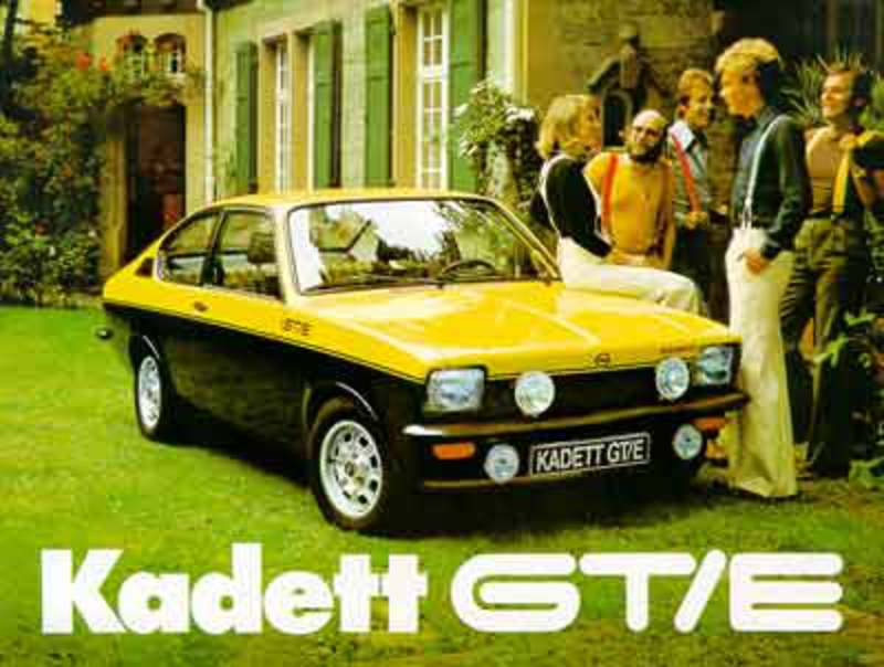 golf GTI). The slogan Opel used for this fast Kadett was 'The rally