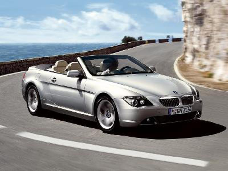 BMW 645Ci Convertible 2006. Picture credit: BMW. Send us more 2006 BMW 645Ci