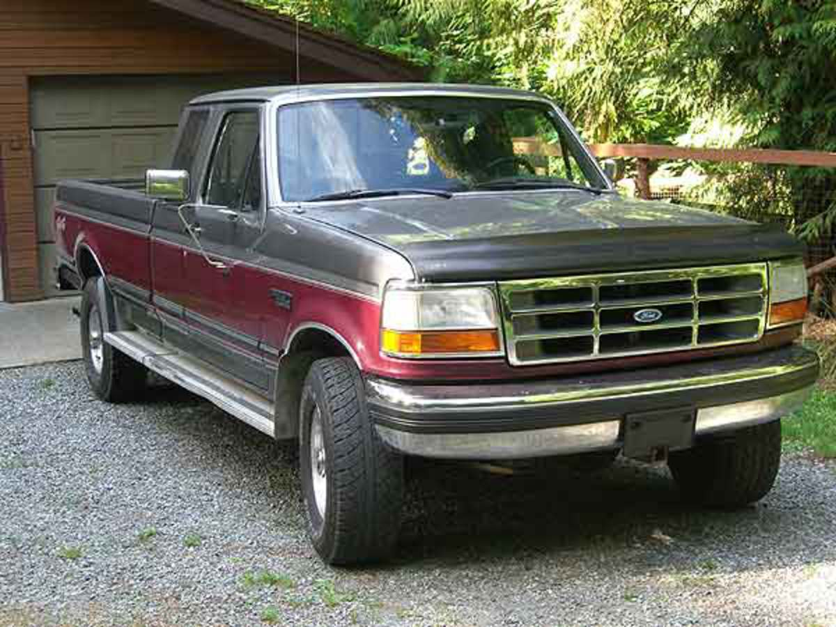 Topworldauto Photos Of Ford F 250 4x4 Photo Galleries 1964 1993 Front View The Beast There