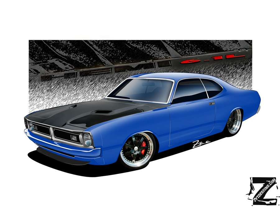 Dodge Demon 71 by ~zvtdesigns on deviantART