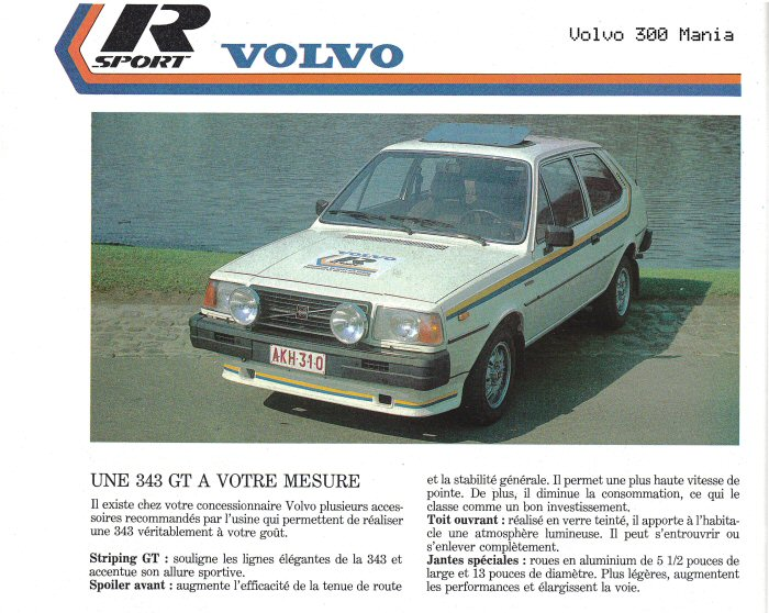 Volvo 343 R-sport No. 5 - 1981 - Soon with B23 and Solex ADDHE C45 R-sport