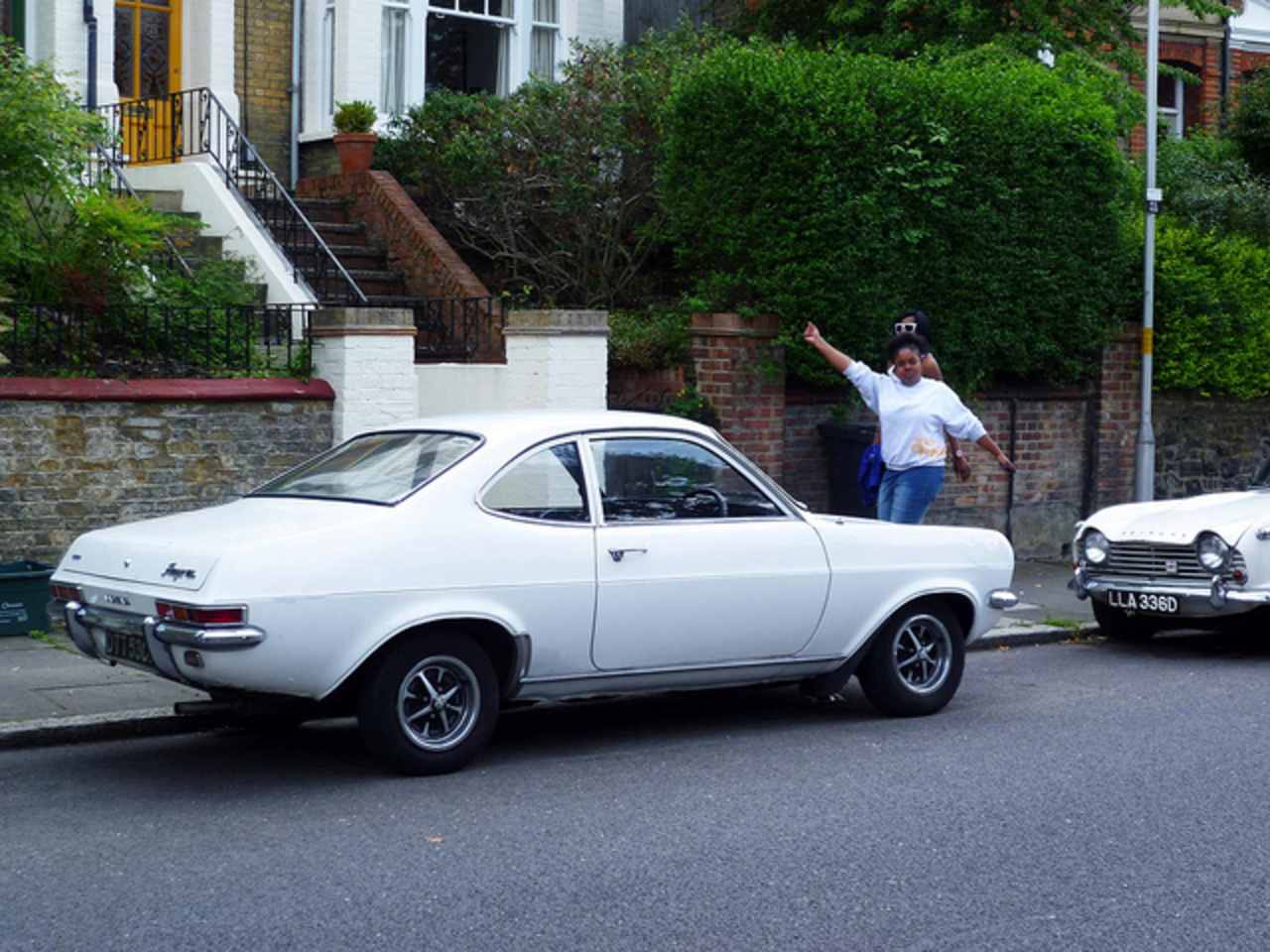 Vauxhall Firenza sl. Not so many of these left.. especially plain-jane