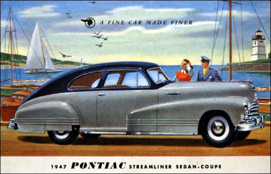 Topworldauto Photos Of Pontiac Streamliner Photo Galleries 1941 Silver Streak Title A Fine Car Made Finer Sedan Coupe