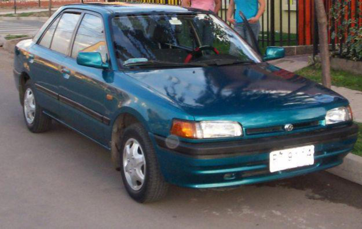 Mazda 323 GLXi - huge collection of cars, auto news and reviews, car vitals,