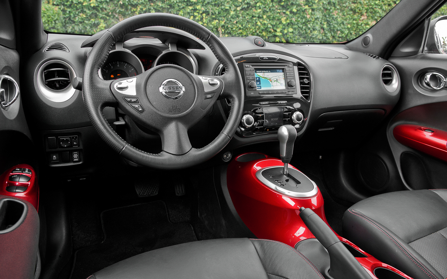 Topworldauto photos of nissan juke photo galleries for Interior nissan juke