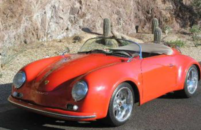 Porsche 356 Speedster Replica 1958 Super Wide body Porsche 356 Speedster