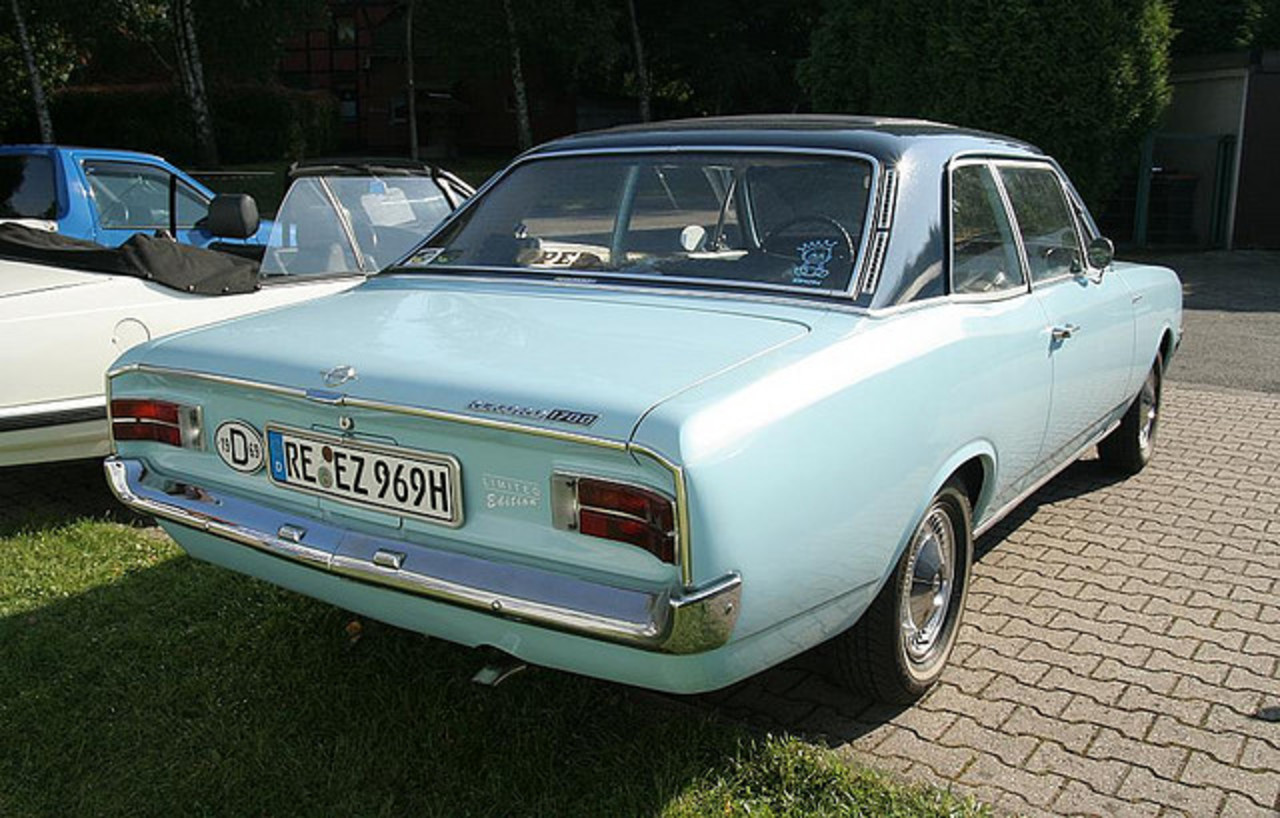 Opel Rekord 1700 Coupe 1969