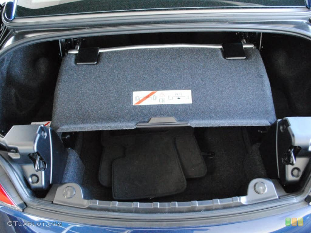 2010 BMW Z4 sDrive35i Roadster Trunk Photo #46515819