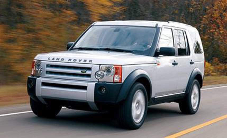 Land Rover LR3 HSE. A well-known Brit seeks a new identity.