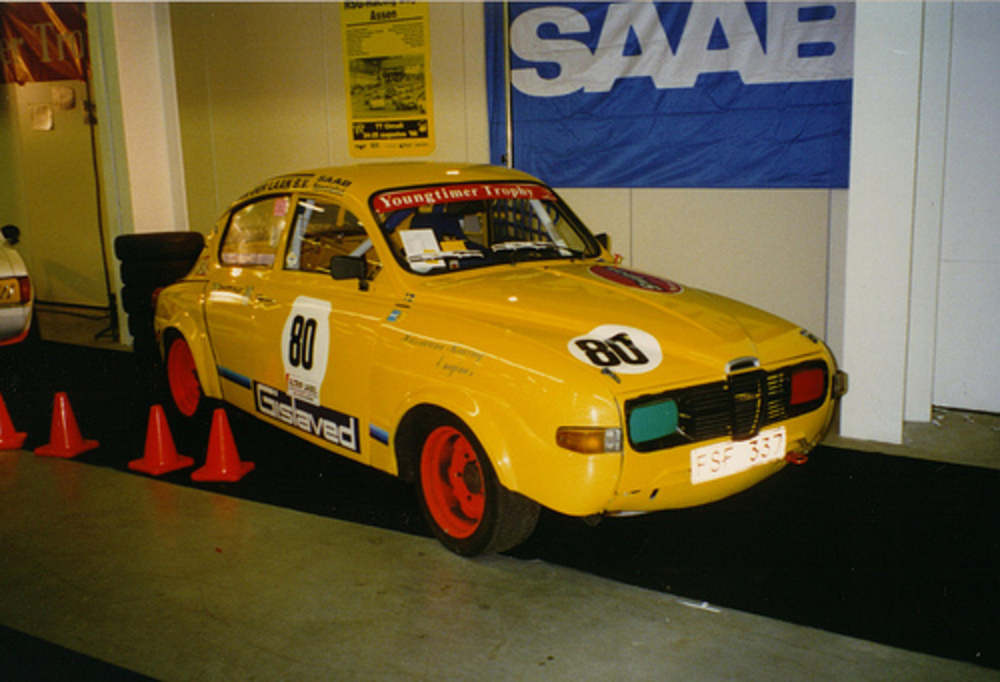 "Saab 96 V4 Rally ""Youngtimer Trophy"""
