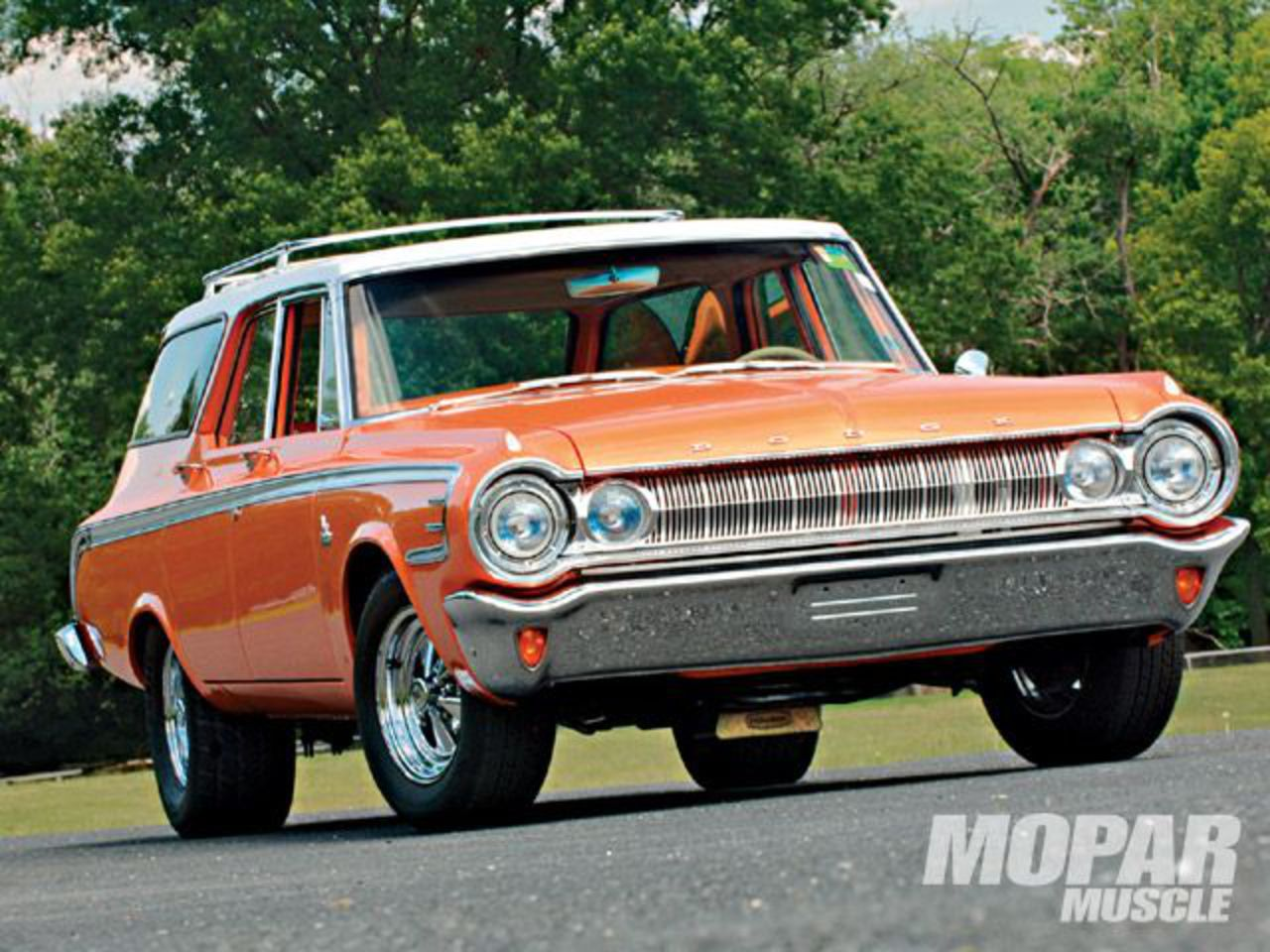 1964 Dodge 440 Station Wagon Frontview